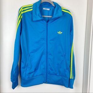 Adidas Original Track Jacket 3 Stripes Size XL